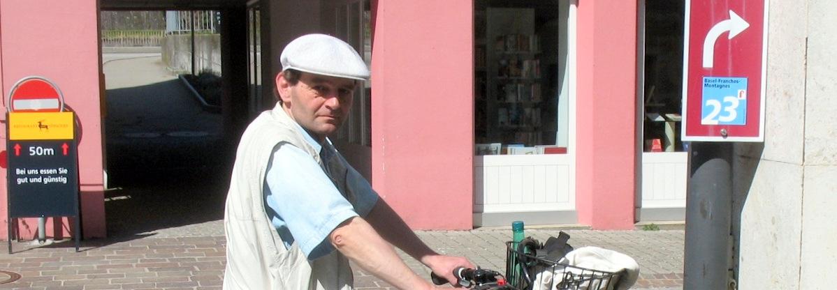 """""""Wandelndes Bodensee-Lexikon"""", Radfahrer, Stadt- und Landwanderer, Flaneur"""